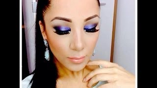 ELECTRIC LILAC MAKE UP TUTORIAL