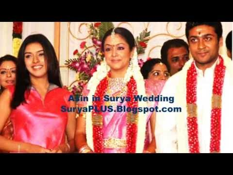 HD Surya Jyothika Marriage Album