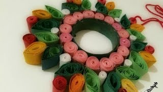 DIY Colorful Paper Wall Hanging | Paper Craft For Home Decor | Paper Quilling Art