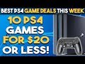 10 CHEAP PS4 Games for $20 or Less! (BEST PS4 Game Deals This Week) Attack of the Blockbusters Sale