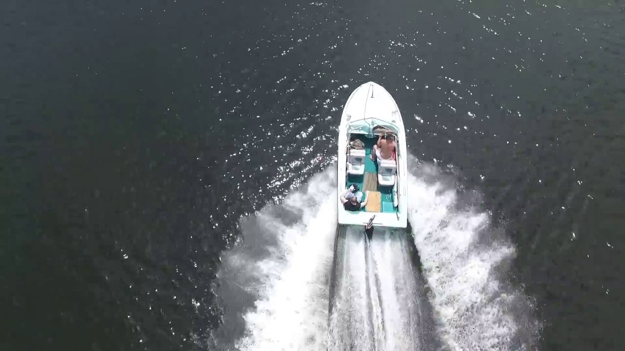 First day of boating on Ski Fish 2016- Sea Ray SRV 180
