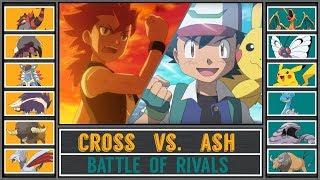 Ash vs. Cross (Pokémon Movie) - Rival Battle/Pokémon Sun/Moon