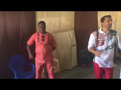 MISS JOSINALDO CAVALCANTI,FALA DO TRABALHO NO VILAGE BOASSA - BURKINA FASO 🇧🇫