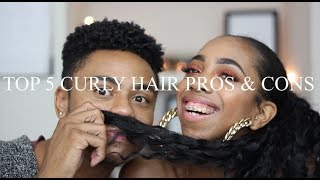 5 Curly Hair Pros and Cons w/ Kay Goode