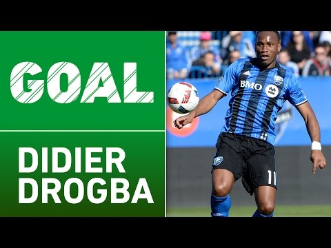 GOAL: Didier Drogba with a beautiful free kick