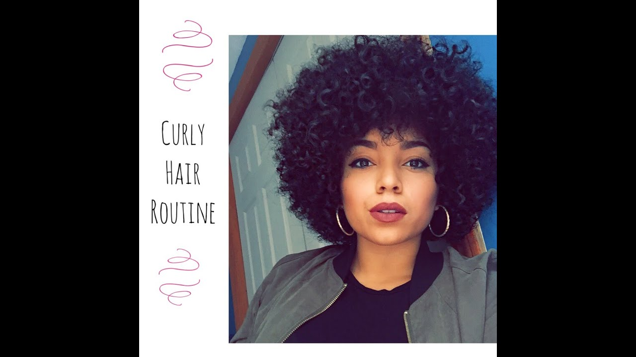 big curls hair style my big curly hair routine 7867