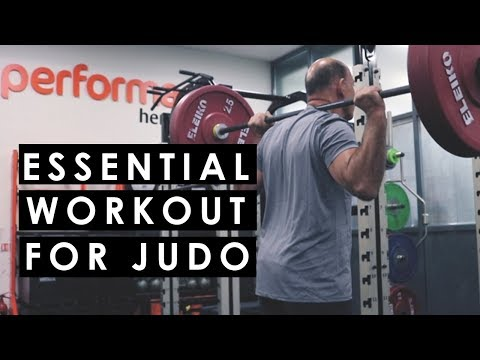 Essential Gym Routine for Judo