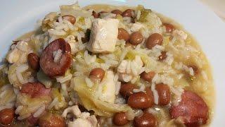 Receita de arroz de feijão com peito de frango by necasdevaladares
