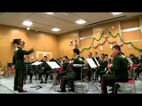 Eastern Army Band, Japan Ground Self - Defense Force - Sleigh Ride (Leroy Anderson)