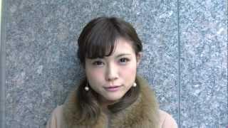 "2012/12/25 HENGAO CALENDARは""松川佑依子ちゃん""です☆ 綺麗な顔立ちで..."