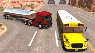 Bus & Truck Crashes/Jumps Compilation - BeamNG Drive Satisfying Crashes