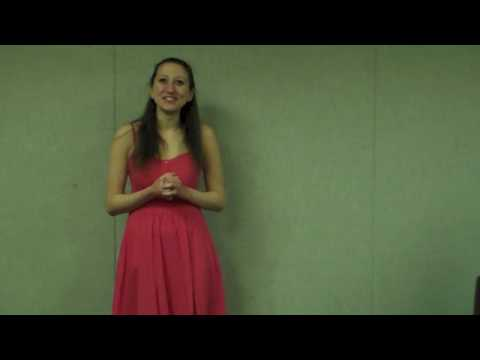 Chelsea Cylinder Audition Video For The Hedgerow Theatre Acting Fellowship