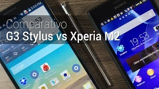 Comparativo: LG G3 Stylus vs Xperia M2 | Tudocelular.com