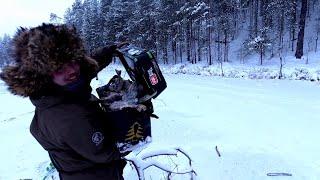 ОТОРВАЛИСЬ по первому льду Рыбалка в перволедье