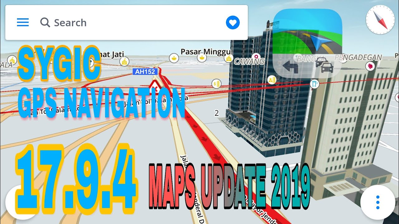 Sygic Gps Navigation 17 9 4 Update 2019 Android No Root Youtube