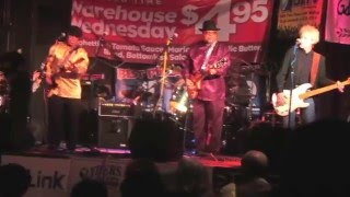 back talk blues band featuring gary guitar williams live at gillys