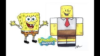 SpongeBob SquarePants Characters as Roblox