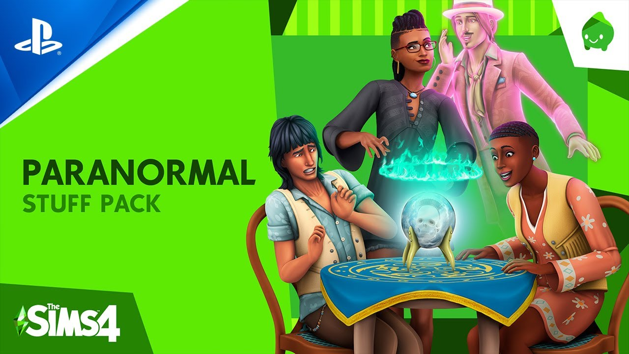 The Sims 4 Paranormal Stuff Pack - Official Reveal Trailer - PS4