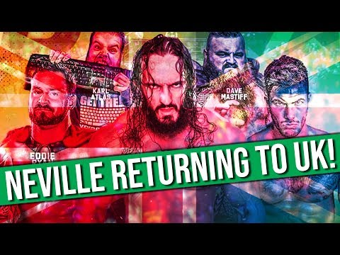 Former WWE Superstar Neville Announced For UK Shows | Cody Says He's Not In Bullet Club