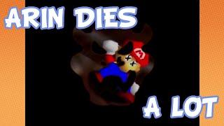 Arin's Deaths Compilation - Game Grumps: Super Mario 64 [EPs 01-FINALE]