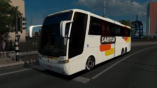 Vissta Buss HI & Jumbuss 360 Bus Mod [v 3.0] review for Euro Truck Simulator 2