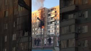 На Малой Горной пожарные тушили вещи на балконе