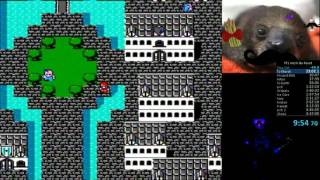 Final Fantasy (NES) speedrun 3:49:49 Any% No Resets