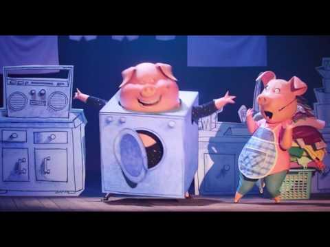 Песня свинок из мультфильма Зверопой. Гюнтер и Розита. - Как поздравить с Днем Рождения