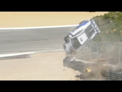 lamborghini-super-trofeo-north-america-2018.-race-1-laguna-seca-raceway.-sheena-monk-huge-crash