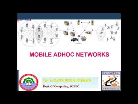 Mobile Adhoc Networks  Lec1