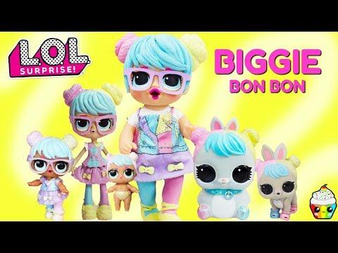 LOL BIGGIE BON BON DIY Baby Alive GIANT Bon Bon