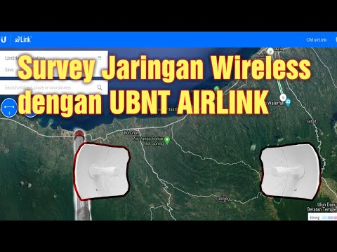 Cara Survey Jaringan Wireless dengan UBNT Airlink