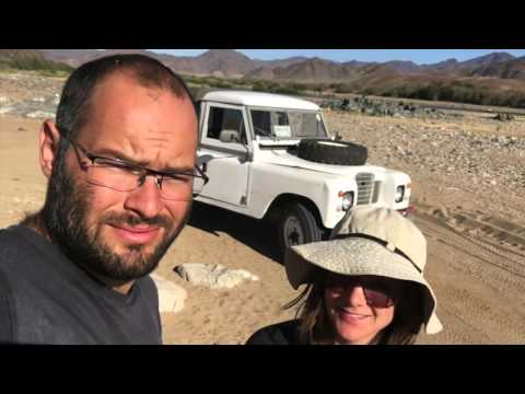 Into the Richtersveld of the Northern Cape, South Africa - Land Rover Series 3