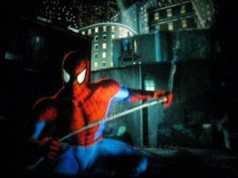 the amazing adventures of spiderman front seat onride