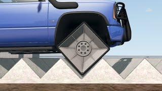 Can square wheels on a square road surface be smooth? - beamng   Car Pal screenshot 5