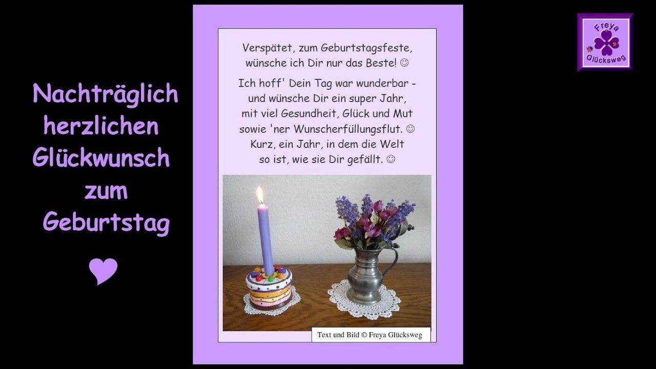 Fg51 Nachtragliches Gedicht Zum Geburtstag Geburtstagsgedicht