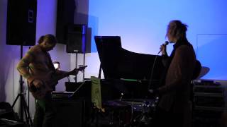 The Strange Walls - Gone Gone Gone (The Notwist) live at Spectrum NYC 2/13/13