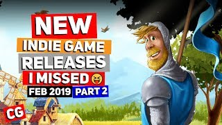 Indie Game New Releases I Missed Feb 2019 – Part 2 Upcoming Indie Games