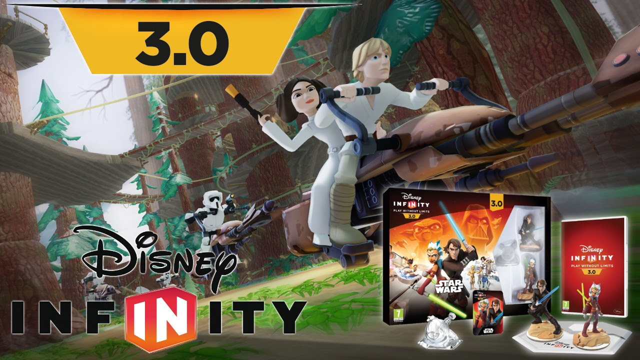 Disney Infinity 3 0 Star Wars Trailer Amp Starter Pack