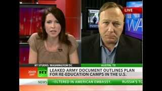 Alex Jones: Pentagon prepares re-education camps for political activists