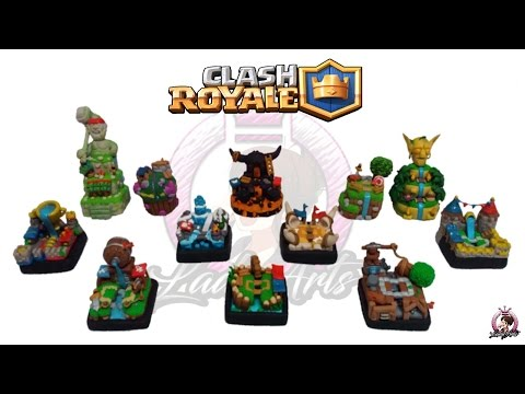 Full Collection Arenas | Clash Royale | Polymer Clay