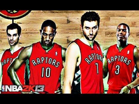 NBA 2K13 Online Gameplay - Crunchy Defense With The Raptors!
