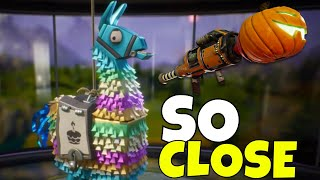 FREE REFUNDED BIRTHDAY LLAMAS! | SO CLOSE TO JACK O LAUNCHER! | Fortnite Save The World