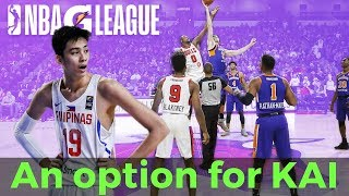 NBA G League: Bagong option para kay Kai Sotto
