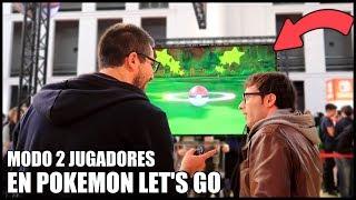 🔥 Pokémon Let's GO 😍 2 Jugadores Gameplay con @Ray Bacon