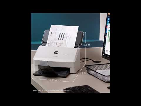 HP ScanJet Pro 3000 s3 Sheet-feed OCR Scanner  | BY SHOPIN REVIEW
