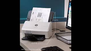 HP ScanJet Pro 3000 s3 Sheet-feed OCR Scanner   BY SHOPIN REVIEW