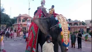 Nilkanth Dham, Poicha - Daily Rathyatra