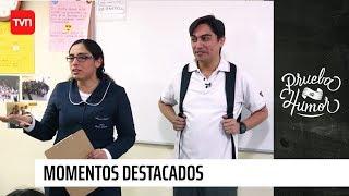 Profesora puso en apuros a Sergio Freire | Prueba de humor