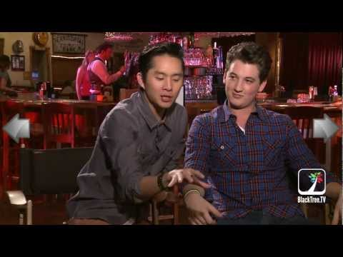 Justin Chon & Miles Teller talk about their near death experience on the set of 21 & Over